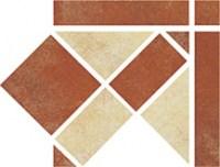 Zalakerámia Iberia RGS 319 padlódekor 16,5 x 16,5