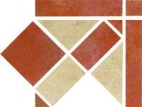 Zalakerámia Iberia RGS-318 padlódekor 16,5x16,5 cm